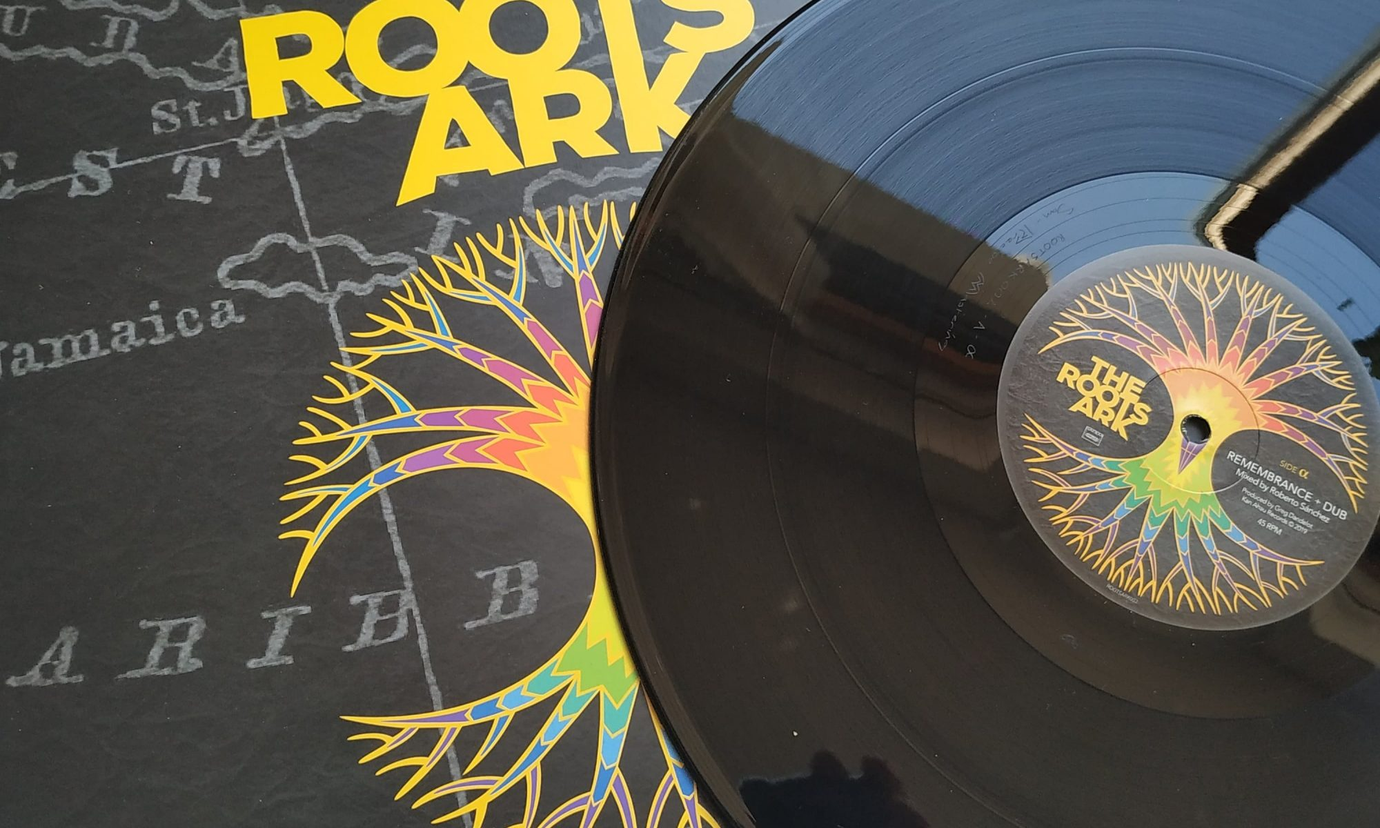 The Roots Ark, maxi 45T, vinyle